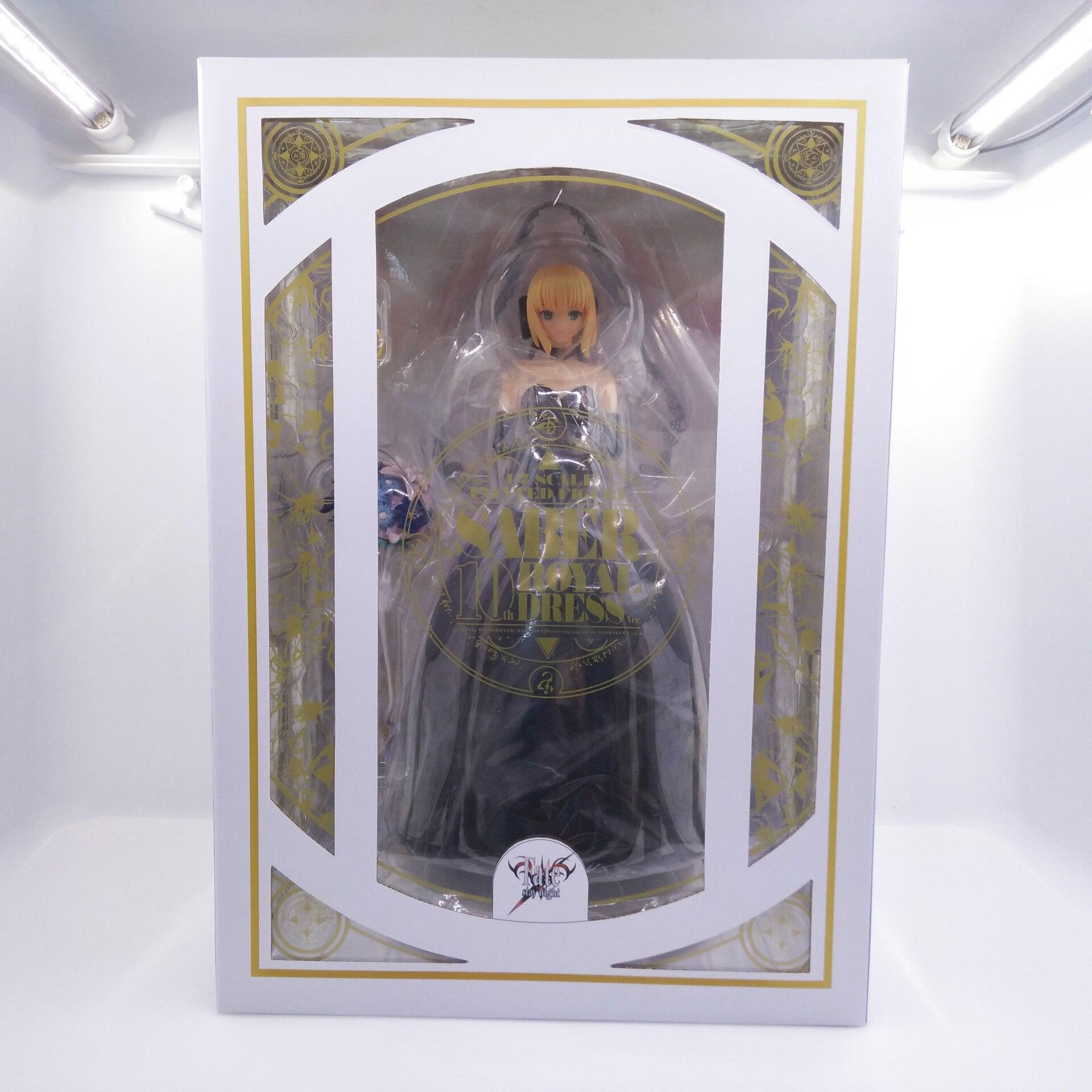 Destin/séjour sabre de nuit robe de mariée noire figurine d'action 10th anniversaire robe royale PVC 25 cm modèle collection nouvelle poupée CHN Ver. - 6