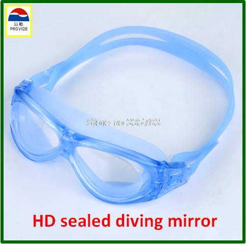 PROVIDE HD swimming glasses high quality profession Diving mirror Super anti fog seal protective goggles provide safety glasses explosion protection anti shock protective glasses universal high quality goggles