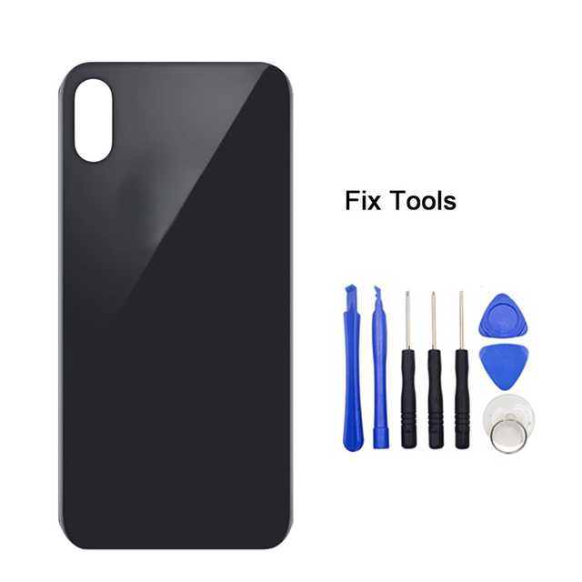 online retailer 1b467 7394a 1Pcs Original Quality For iPhone X XR XS/XS Max Back Battery Cover Rear  Glass Door Housing Case Repair Replacement Phone Part