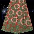 Арт. Sqc44, В продаже вышивка африканских шнурки ткань для платья, Хороший швейцарский кружевной ткани бесплатная доставка