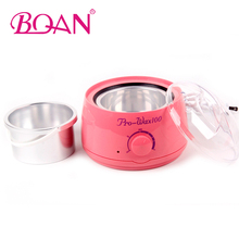 110V-240V Professional Warmer Wax Heater Machine Pot Mini Spa Hand Spilator Wax Paraffin Hair Removal Tool Pink