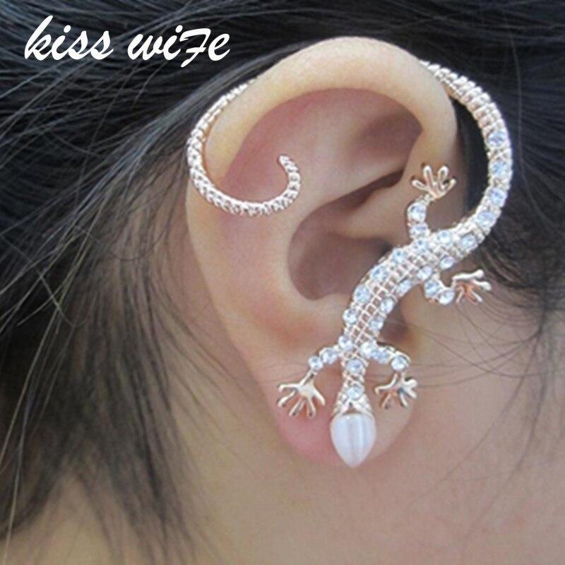 Brincos 2016 New Fashion Accessories Rhinestone Ear Cuff ...