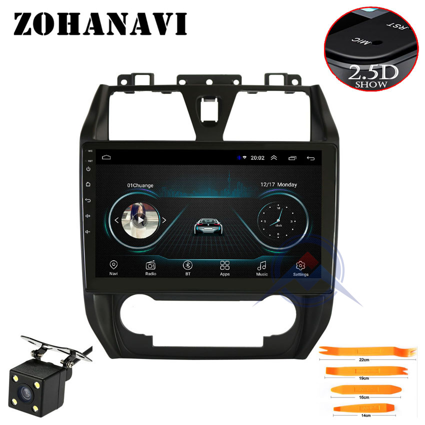 ZOHANAVI 10 2 inch Android car radio magnet for GEELY Emgrand EC7 2012 2013 2014 Car