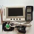 7 Inch Color LCD Video Door Phone Intercom System Door  Unlock  VideoTake Picture Record Night Vision Waterproof doorbell camera