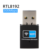 300Mbps USB wifi TV Adapter Wireless network Card wi fi antenna transmitter Mini USB Router WI-FI LAN Internet Adapter RTL8192