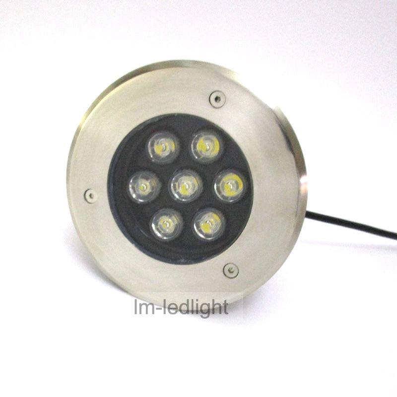 led lamp floor 7W 85~265V IP67 waterproof decklight led Bridgelux 45mil pink blue white outdoor floor led
