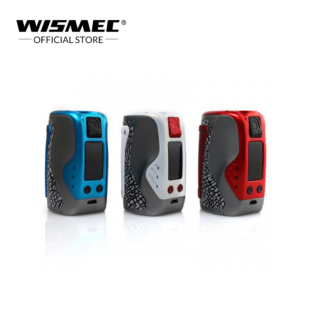 Official Store WISMEC Reuleaux Tinker TC MOD 300W Output TC Ni TC Ti TC SS