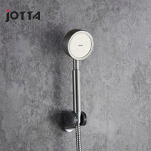 Stainless steel brushed hand spray pressurized shower head removable