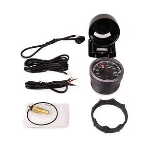 "Image 5 - CNSPEED 7 Colors LED 2.5"" 60mm 12V Universal Racing Car Water Temp Temperature Gauge Sensor for Honda  Auto Gauge Meter Pod"
