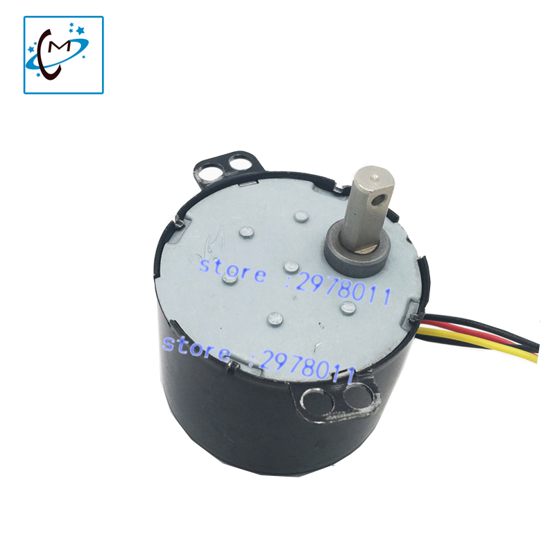 Hot sale !!! Mimaki piezo  photo printer take up reel system motor for Roland Wit color  Mutoh printer rewinder motor part best price mimaki jv33 jv5 ts3 ts5 piezo photo printer encoder raster sensor with h9730 reader for sale 2pcs lot