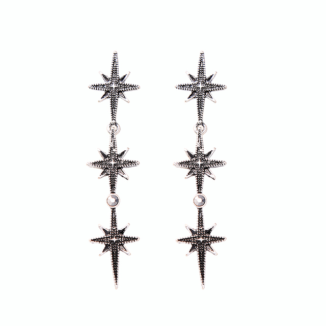 KISS ME Crystal Resin Geometric Stars Insect Drop Earrings 2018 New Cheap Party Earrings for Women.jpg 640x640 - Crystal Resin Geometric Stars Insect Drop Earrings