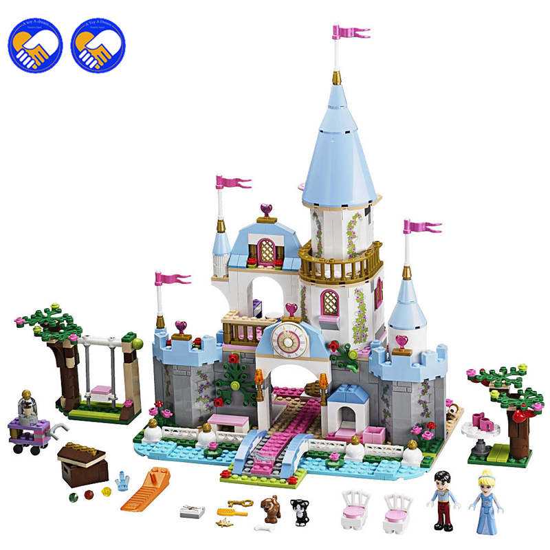 SY325 699Pcs Cinderella Princess Romantic Castle Model Building Kits Girl Friend Blocks Bricks Toys Compatible Lepin 79279 smartbuy smartbuy usb для apple ik 512