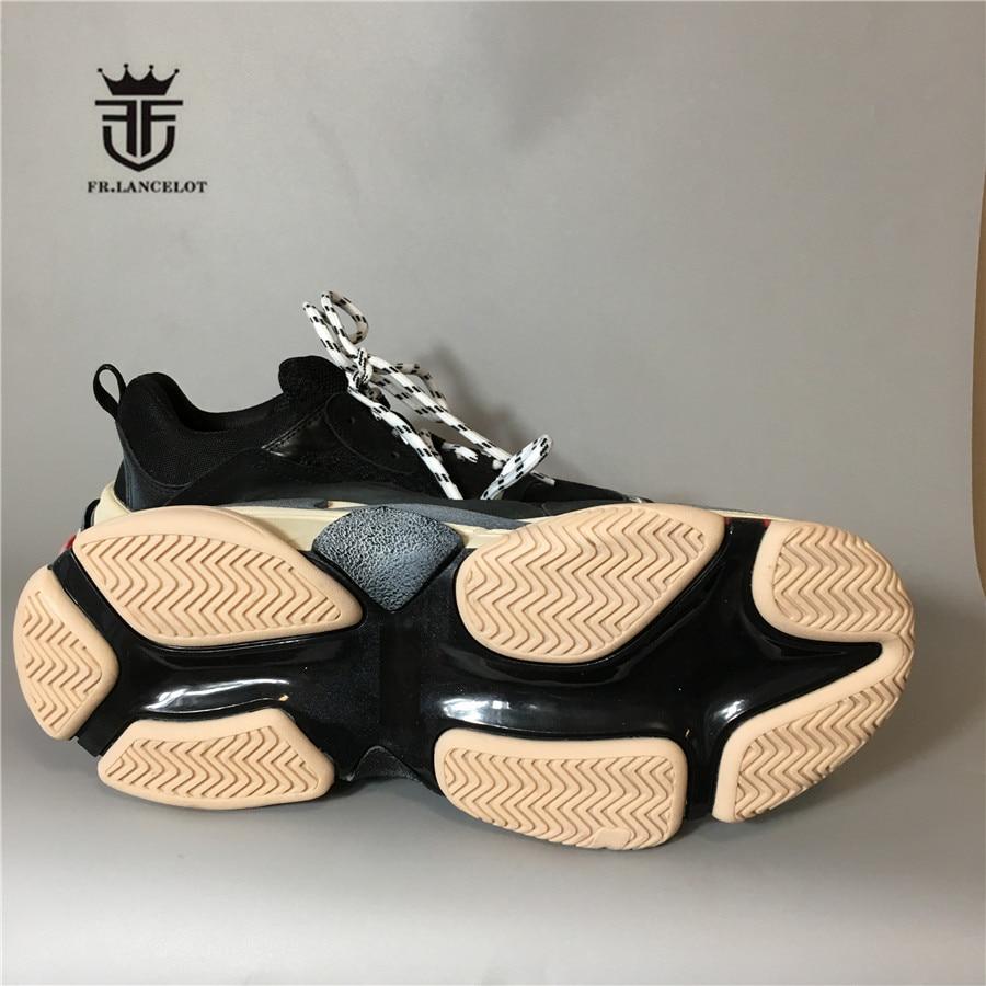 Ręcznie najwyższej jakości technologii Composite podeszwa Mesh oddychające luksusowe buty prawdziwej skóry Retro wersja trener buty w Podstawowe buty od Buty na  Grupa 3