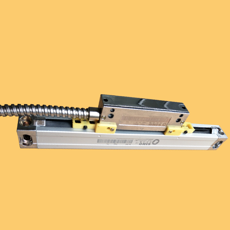 KA500 series high precision small digital linear displacement grating optical ruler electronic scale resolution 5um free shippin high precision linear displacement grating ruler ttl signal measurement distance 50mm 600mm reset precision 1um