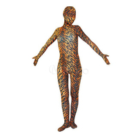 Adult Womens Sexy Halloween Party Leopard Print Cosplay Costumes Spandex Lycra Zentai Female Anime Animal Costume