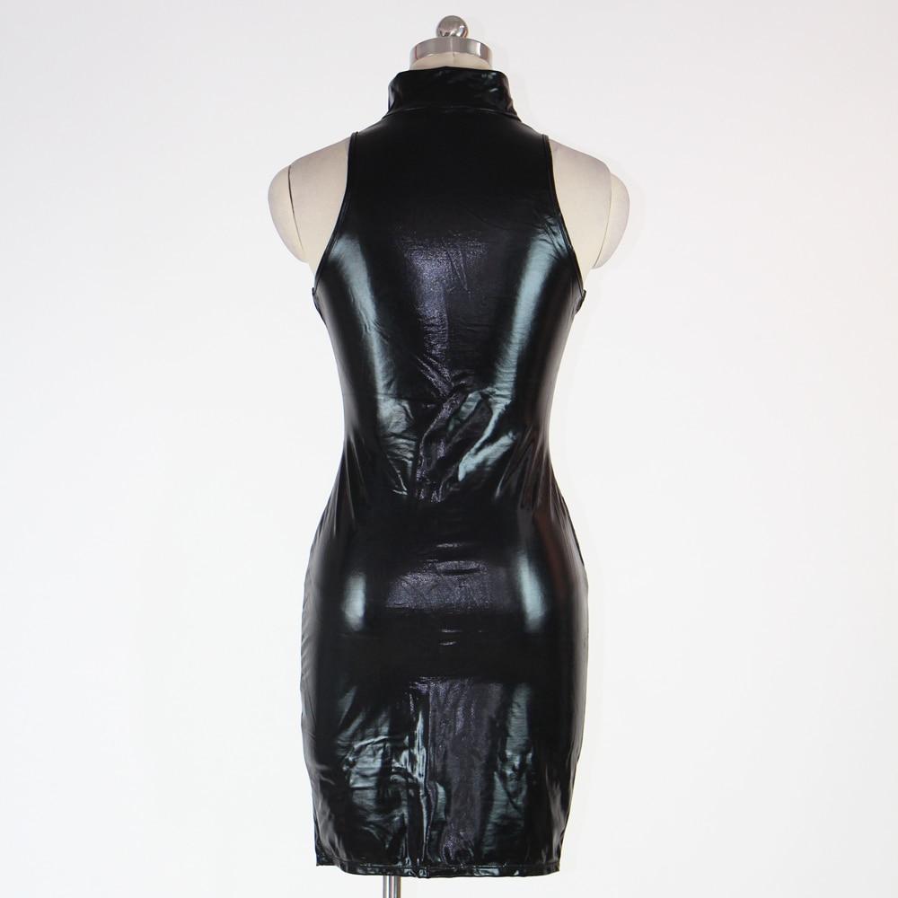 correst Rubber latex pvc dress