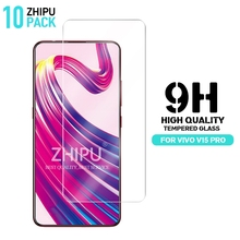 10 Pcs Tempered Glass For vivo V15 Pro Screen Protector 2.5D 9H 6.39 Protective Film