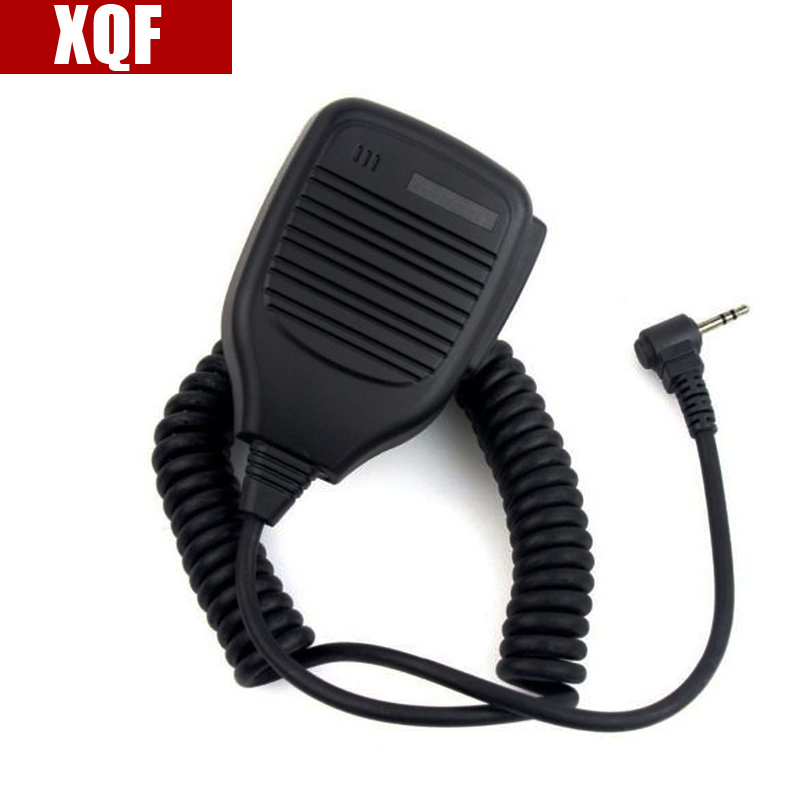 XQF 1Pin 2.5mm Speaker Microphone For Motorola Talkabout Radio T6200 FR50 FR60 Cobra Radio