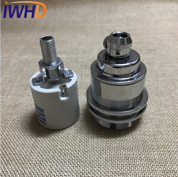 Portalampada, винтажный E27 патрон для лампы, фитинг, промышленный стиль, дуиль E27, винтажный патрон для лампы Эдисона, подвесное основание для патрона - Цвет: 8