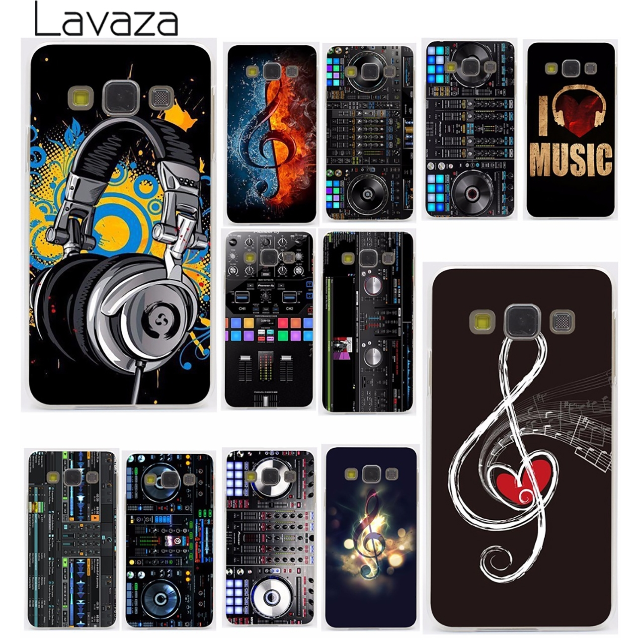 Lavaza ddj dj music Hard for Samsung Galaxy A3 A5 A7 A8 2015 2016 2017 2018 Note 8 5 4 3 2 Grand Prime 2