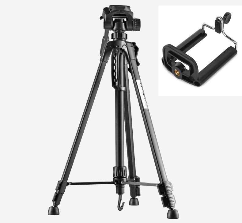 Photo Tripod stand for Camera Camcorder WF 3520 Black tripod tripe extensor para foto with handle
