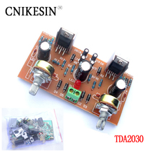 CNIKESIN diy TDA2030 OTL Double channel amplifier board suite (electronics components power amplifier board suite)