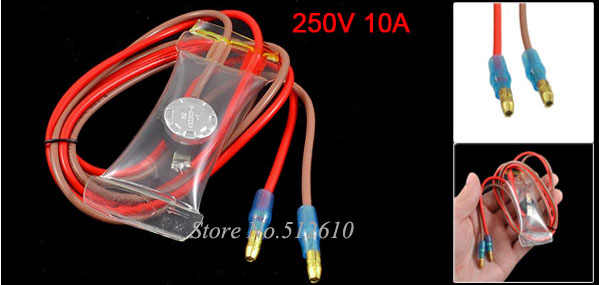 KSD303-A 2 Wire Lead -7C Normal Open Refrigerator Defrost Thermostat 250V 10A