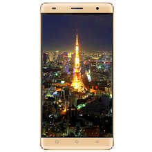 New Arrival  2017  Chinese Smart phone SAST SA5 golden color slim body YUNOS system 3000mAh large battery with finger print