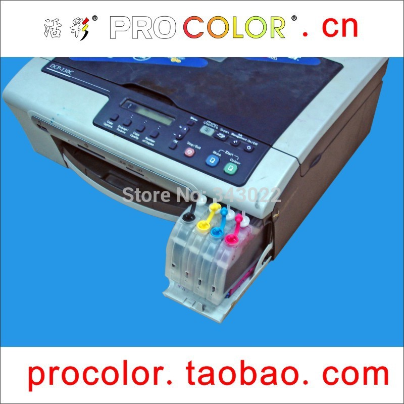 Long Refill Ink Cartridge For Brother LC10 LC37 LC51 LC57 LC960 LC970 LC1000 DCP-130C 330C MFC 240CN 440CN 660CN 1360 3360C 5460
