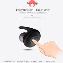 KAPCICE TWS Bluetooth наушники настоящие беспроводные стерео наушники Водонепроницаемая bluetooth-гарнитура для телефона HD связь портативный