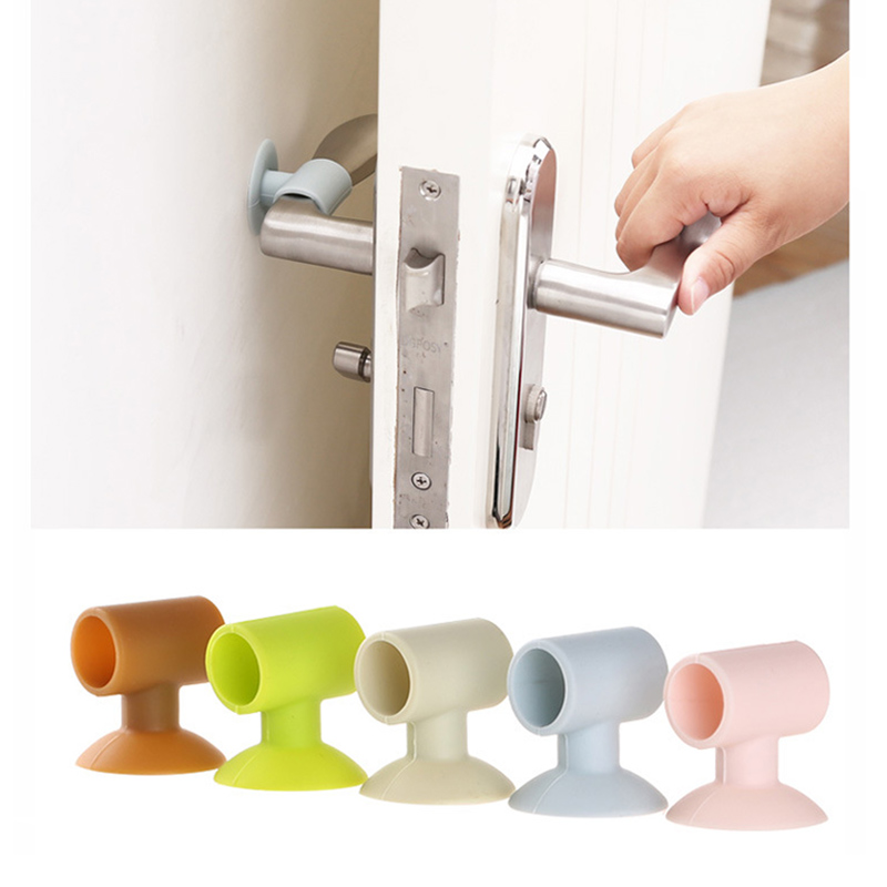 Silicone Door Handle Knob Crash Pad Wall Bumper Guard Stopper Anti Collision Suction Pads MAL999Silicone Door Handle Knob Crash Pad Wall Bumper Guard Stopper Anti Collision Suction Pads MAL999