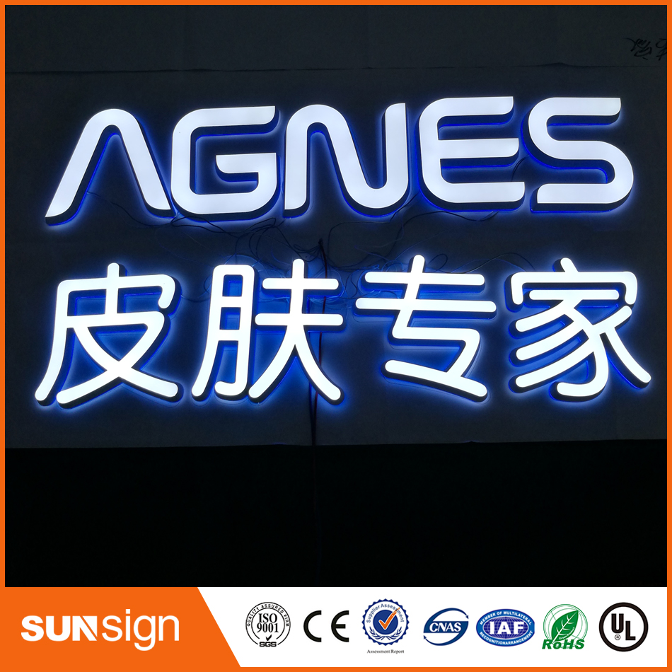 Custom Factory Outlet INDOOR mini acrilico led illuminato lettereCustom Factory Outlet INDOOR mini acrilico led illuminato lettere