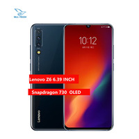 Global ROM Lenovo Z6 8G 128G  Snapdragon 730 Smartphone Quad Cameras 6.39 Inch OLED In screen Fingerprint 4G mobile phone Lenovo Phones