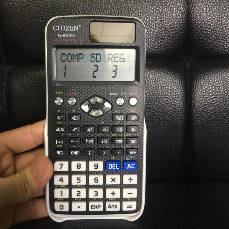 Solar Power Scientific Rechner EX 552 Für Home Office Schule Zähler Berechnung SL @ 88
