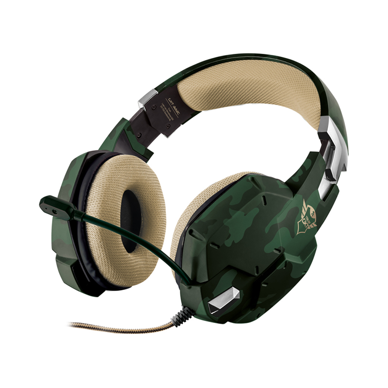 Headphones Trust GXT 322C CARUS trust gxt 310 red black стереогарнитура