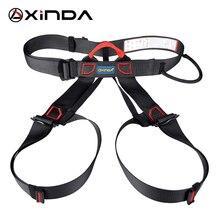 Xinda cinturón de seguridad profesional para deportes al aire libre, arnés de escalada en roca, Outfitting, soporte de cintura, arnés de medio cuerpo, supervivencia aérea