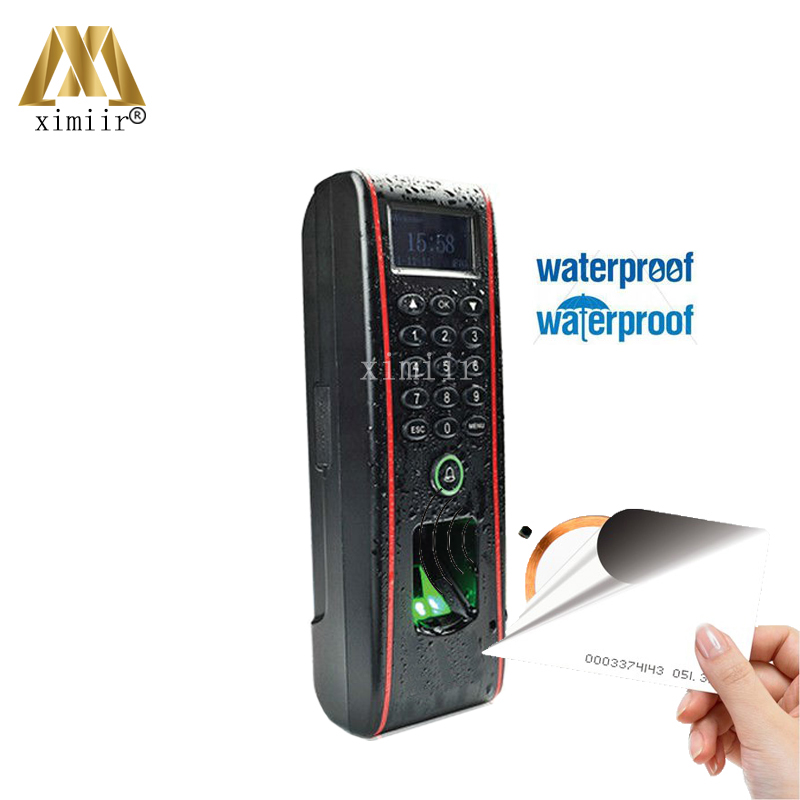IP65 Waterproof Fingerprint Access Control And Time Attendance TCP/IP ZK TF1700 Door Access Control System With RFID Card Reader rfid card access control system tcp ip card time attendance and access control weigand card reader 4 doors access controller