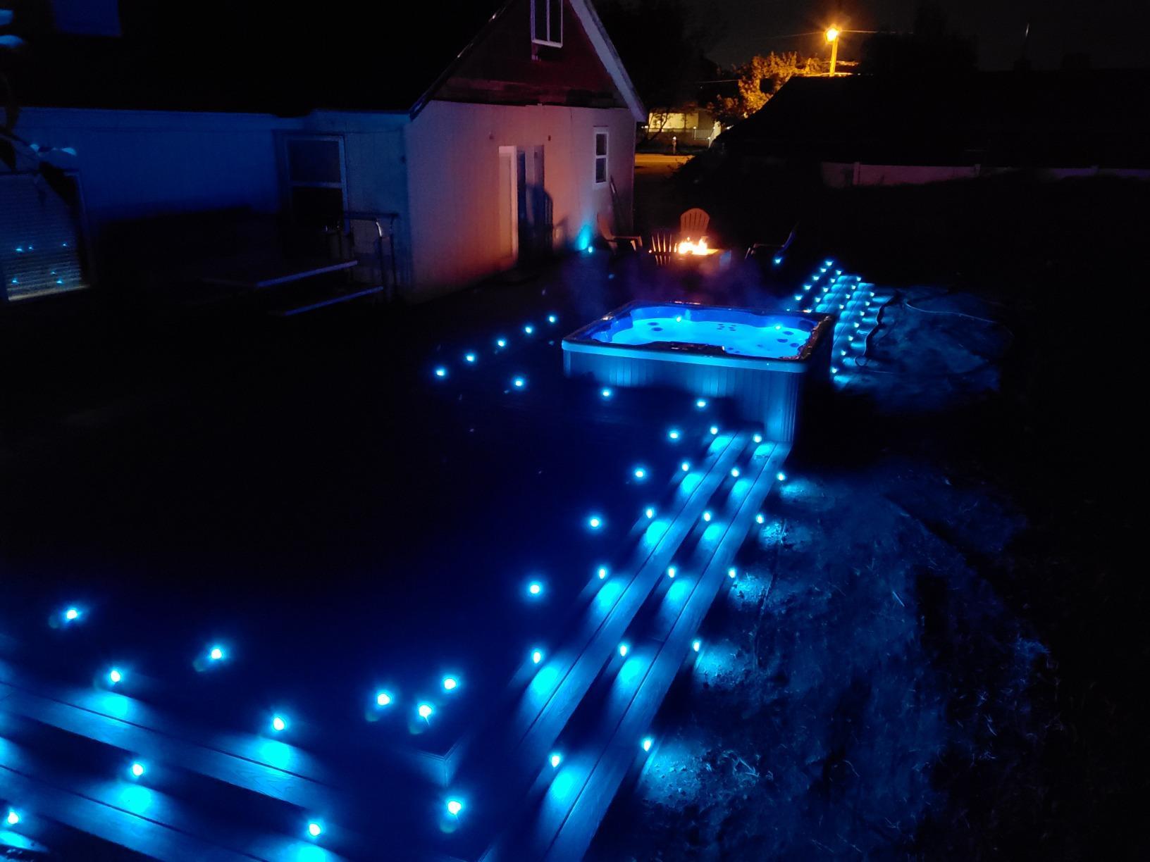 Mutável À Prova D' Água LED Da