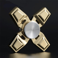 Luminous Mirror New Fidget Spinner Golden Finger Spinner EDC Spin Fidgets Anti Stress For Autism And