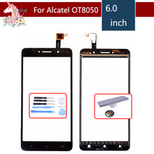 For Alcatel One Touch Pixi 4 OT-8050D OT8050 8050D 8050 Touch Screen Digitizer Sensor Outer Glass Lens Panel Replacement цены онлайн