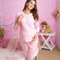 Cotton Casual Feeding Clothing Maternity Clothes For Pregnant Women Maternity Nursing Clothes Pregnancy Clothes Set
