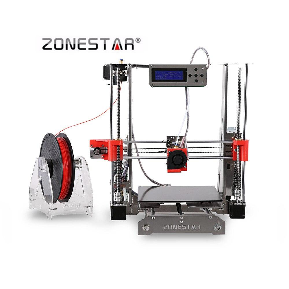 Zonestar P802Q Métal Cadre Reprap Prusa I3 DIY 3D Imprimante Kit