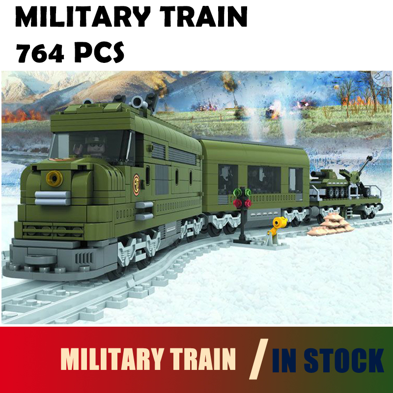 Compatible with lego city Model building kits train 572 3D blocks Educational model & building toys hobbies for children