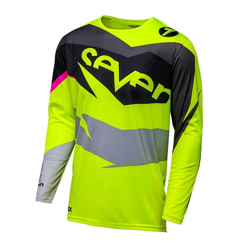 New Race Face Mountain Bike Downhill Dirtbike MX ATV Riding Gear Mens Jersey N1