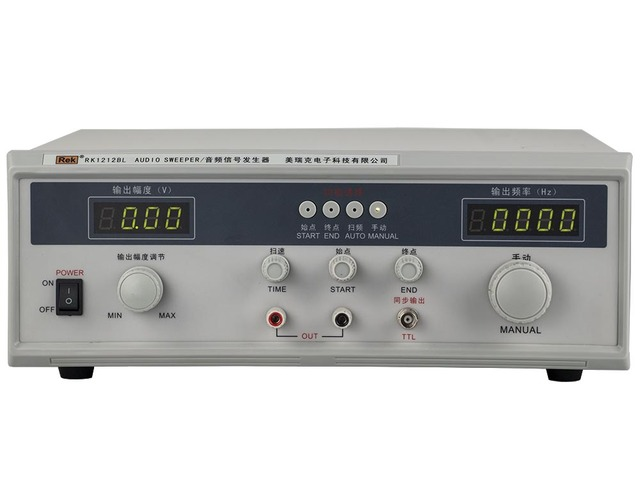 US $349 26 |Rek 20W Audio frequency sweep signal generator Rk1212BL with  Free shipping-in Signal Generators from Tools on Aliexpress com | Alibaba