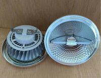 הוביל אור הזרקורים AR111 כתם אור QR111 G53 נהג חיצוני 15 W CREE LED 90-240 V חם/קר שווה ערך ל 100 W מנורת הלוגן לבן