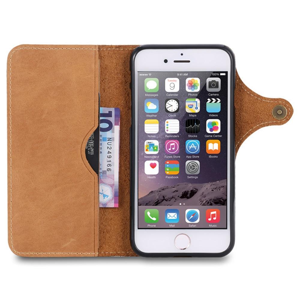 Estuche plegable xFSKY para iphone 6 6s 7 8 plus Estuche retro de - Accesorios y repuestos para celulares - foto 4
