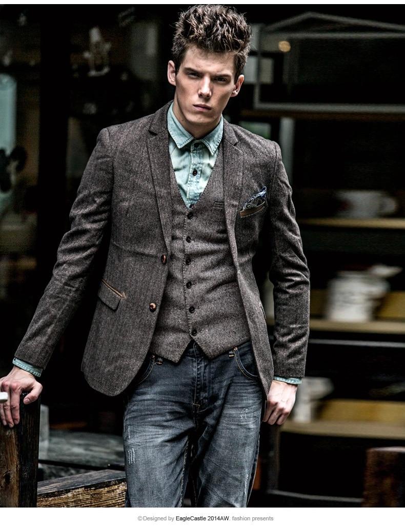 Mens Tweed Style Blazer - The Best Blazer 2017
