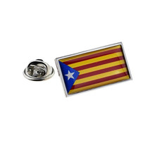 Catalonia Catalonian Flag Pin Badge(China)