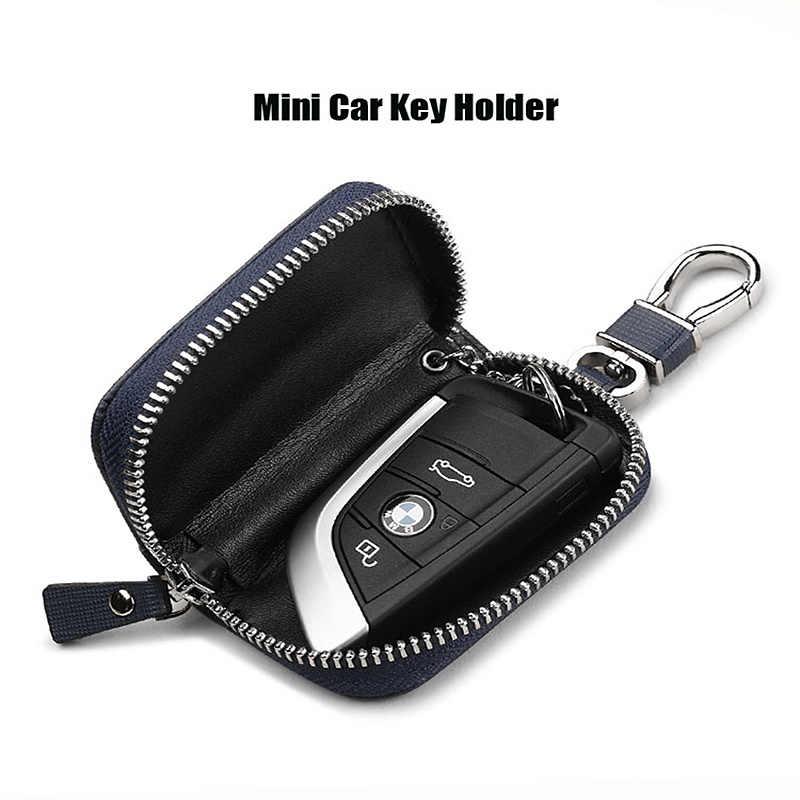 2019 Акция высокого качества модный роскошный кожаный держатель для ключей для автомобильного кошелька PL176111